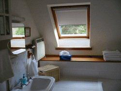 Scottish Holiday Home Bedroom 1 en-suite bathroom